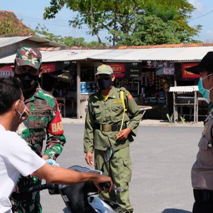 Operasi Yustisi Tingkatkan PPKM Mikro Desa Dasun